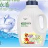 厂家代加工2kg洗衣液易漂手洗机洗低泡洗衣液 婴儿瓶装赠品洗衣液