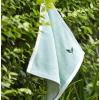 三利纯棉纱布柔软吸水方巾绿茶香味日式家用洗脸巾挂绳儿童小毛巾