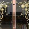 新年店铺大门贴纸春节装饰品过年商场布置门贴窗贴节日用品玻璃贴